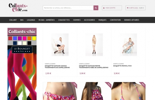 Prestashop COLLANTS CHIC